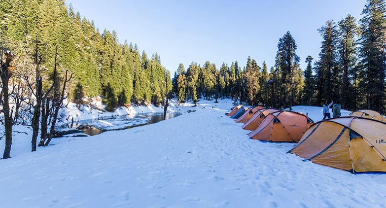 Winter Adventures In Kedarkantha