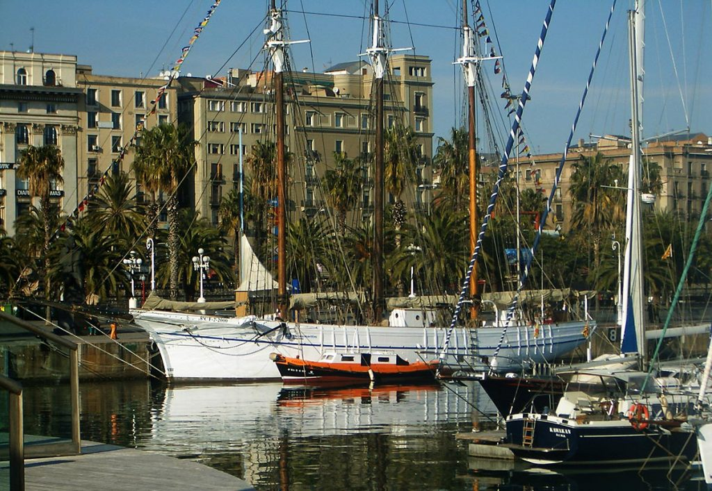 Waterfront in Barcelona